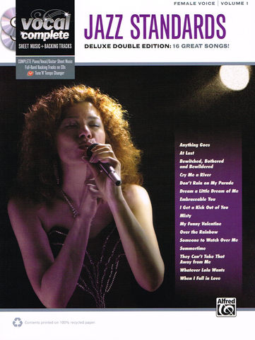 FEMALE VOICE JAZZ STANDARDS BOOK 2CD - ALFRED