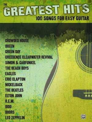 The Greatest Hits 100 Songs for Easy Guitar - Guitar|Vocal Alfred ...