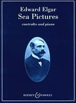Sea Pictures Op. 37 - Song-Cycle - Edward Elgar - Classical Vocal Contralto Boosey & Hawkes