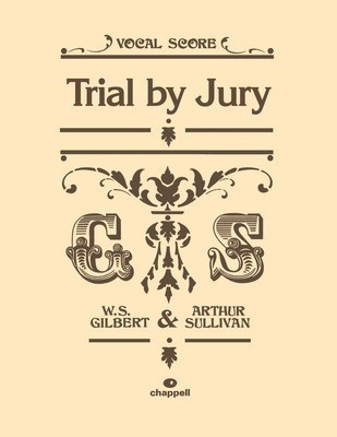 Trial by Jury - Vocal Score - Arthur Sullivan|William Gilbert - Vocal IMP Vocal Score