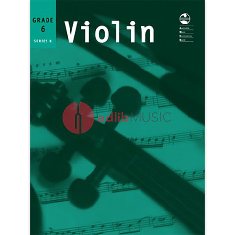 Violin Series 8 - Sixth Grade - Violin AMEB