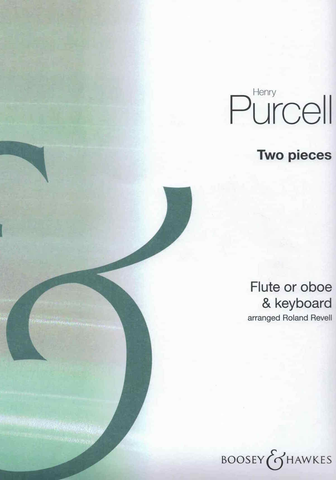 Two Pieces - Henry Purcell - Flute Boosey & Hawkes