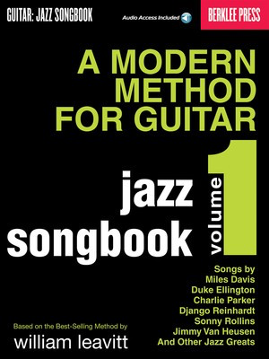 A Modern Method for Guitar - Jazz Songbook, Vol. 1 - Larry Baione - Guitar Berklee Press /CD