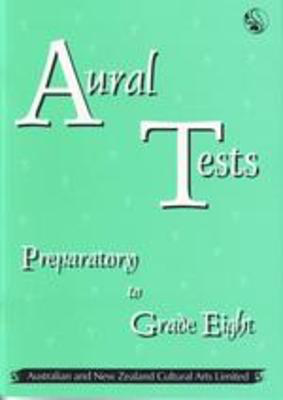 Aural Tests All Grades (Not Drums Or Singing) - Vocal ANZCA
