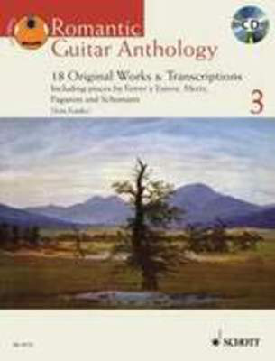 Romantic Guitar Anthology Volume 3 - 18 Original Works - Classical Guitar Schott Music - Adlib Music