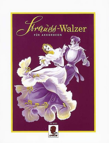 WALTZES VOLS 1 & 2 COMBINED FOR PIANO ACCORDION - STRAUSS - ACCORDIAN - APOLLO