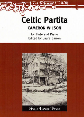 CELTIC PARTITA FOR FLUTE/PIANO - WILSON - FLUTE - FALLS HOUSE PRESS
