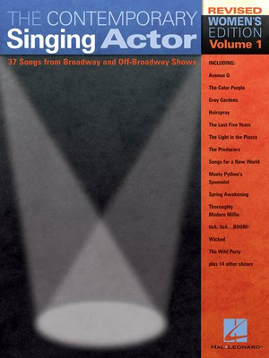 The Contemporary Singing Actor - Revised Women's Edition Volume 1 - Various - Vocal Hal Leonard