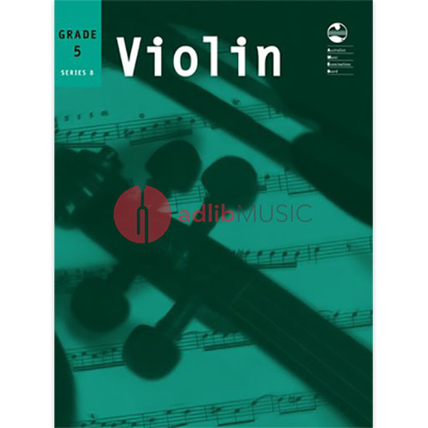 Violin Series 8 - Fifth Grade - Violin AMEB