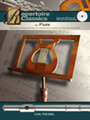 Repertoire Classics for Flute - 36 Repertoire Pieces With Piano Accompaniment. Compiled and Edited By - Flute Carl Fischer /CD