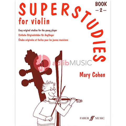 Superstudies Book 2 - Mary Cohen - Violin - Faber Music