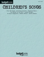 Children's Songs - Easy Piano Budget Books - Piano|Vocal Hal Leonard Easy Piano with Lyrics