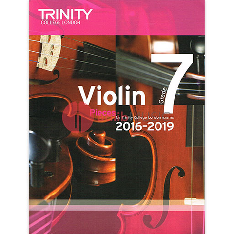 Trinity Violin Exam Pieces Grade 7, 2016-2019 - Score and Part