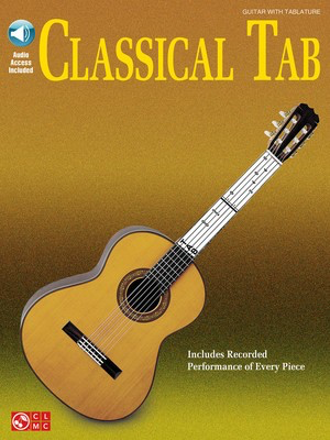 Classical Tab - Various - Classical Guitar Various Cherry Lane Music Guitar TAB /CD