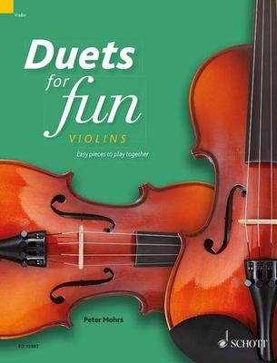 Duets for fun: Violins - Easy pieces to play together - Various - Violin Schott Music Violin Duet