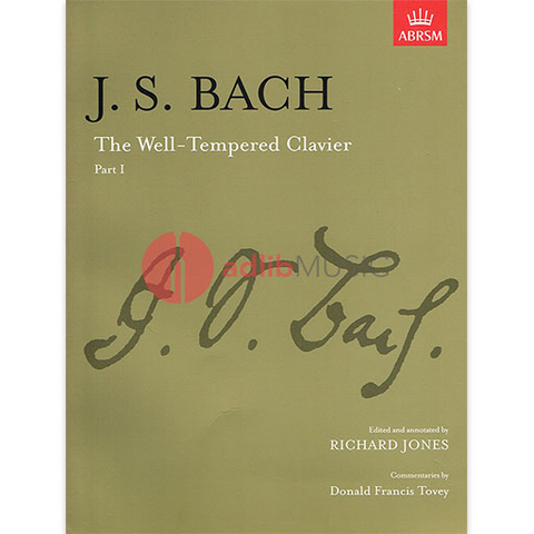The Well-Tempered Clavier, Part I - Johann Sebastian Bach - Piano - ABRSM