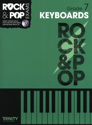 Rock & Pop Exams: Keyboards - Grade 7 - Book with CD - Keyboard|Piano Trinity College London /CD