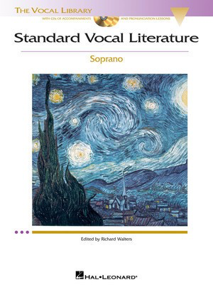 Standard Vocal Literature - An Introduction to Repertoire - Soprano - Various - Classical Vocal Soprano Richard Walters Hal Leonard /CD - Adlib Music