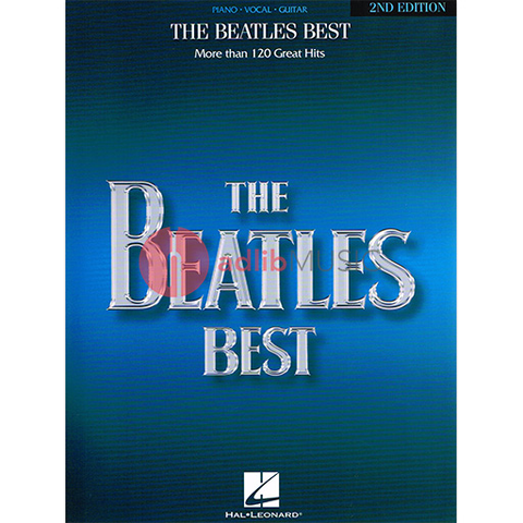 Beatles Best - Over 120 Songs - PVG - Piano|Vocal|Guitar