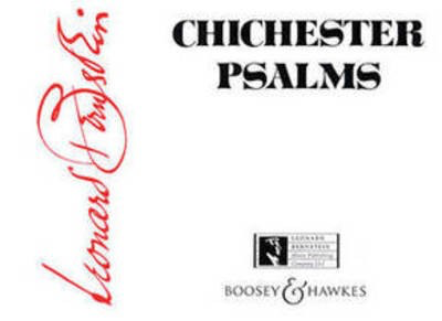 Chichester Psalms - Reduced Orchestration Score for Organ, Harp and Percussion - Leonard Bernstein - Boosey & Hawkes Full Score Score