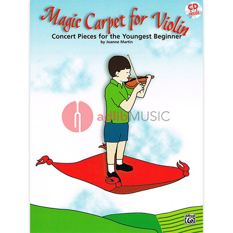 Magic Carpet for Violin Bk/CD - Martin Joanne