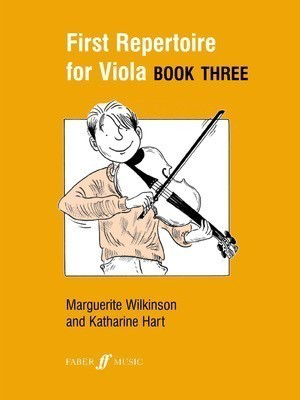 First Repertoire for Viola Book 3 - for Viola and Piano - Marguerite Wilkinson|Katherine Hart - Viola Faber Music