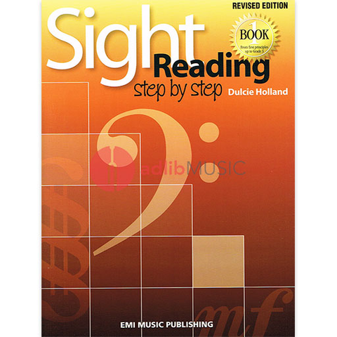 Sight Reading Step By Step Book 1 - From first principles up to Grade 3 - Dulcie Holland - Piano EMI Music Publishing