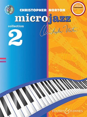 The Microjazz Collection 2 - Graded piano pieces and exercises in popular styles - Christopher Norton - Piano Boosey & Hawkes /CD - Adlib Music