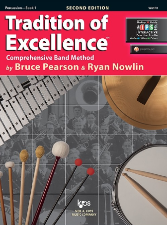 Tradition of Excellence Book 1 - Percussion Part by Pearson/Nowlin Kjos W61PR