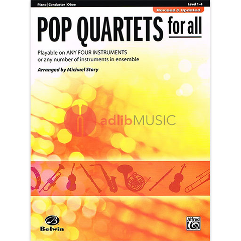 Pop Quartets for All Conductor - Various - Alfred Music