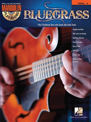 Bluegrass - Mandolin Play-Along Volume 1 - Various - Mandolin Hal Leonard /CD
