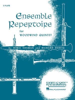 Ensemble Repertoire for Woodwind Quintet - Clarinet - Various - Clarinet Rubank Publications Wind Quintet