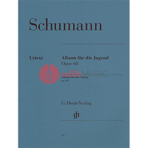 Album for the Young Opus 68 - Piano - Schumann - Henle