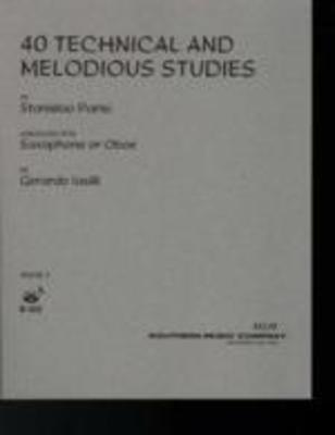40 Technical and Melodious Studies Book 1 - Nos. 1-22 - Stanislao Parisi - Saxophone Gerardo Iasilli Southern Music Co. - Adlib Music