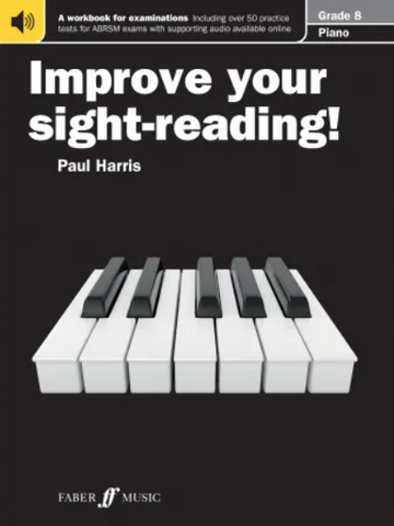 Improve your sight-reading! Piano 8 - Paul Harris - Piano Faber Music