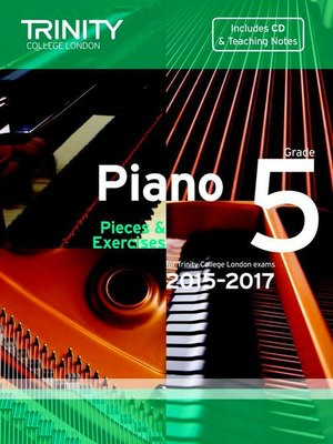 Piano Pieces & Exercises - Grade 5 with CD - for Trinity College London exams 2015-2017 - Piano Trinity College London /CD