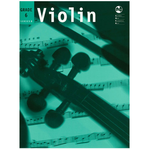 AMEB Series 8 Grade 6 - Violin/Piano 1202067839