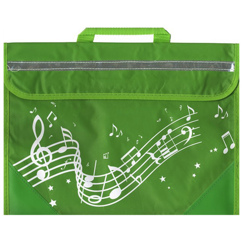 Musicwear Wavy Stave Music Bag - Green