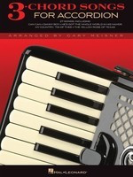 3-Chord Songs for Accordion - Various - Accordion Gary Meisner Hal Leonard