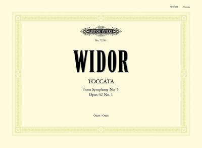 Toccata From Symphony No. 5 Op. 42 - Charles-Marie Widor - Organ Edition Peters Organ Solo