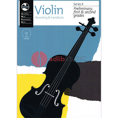 Violin Preliminary To Grade 2 Series 9 CD/Handbook - Violin AMEB /CD
