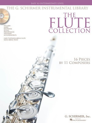 The Flute Collection - Easy to Intermediate Level - Flute G. Schirmer, Inc. - Adlib Music
