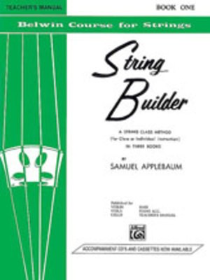 String Builder, Book 1 - Cello - Samuel Applebaum - Cello Belwin - Adlib Music