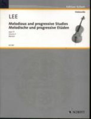 Melodic and Progressive Studies Op. 31 Vol. 2 - Sebastian Lee - Cello Schott Music - Adlib Music