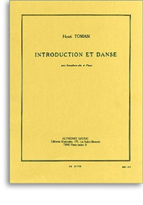 Introduction and Dance - Henri Tomasi - Alto Saxophone Alphonse Leduc