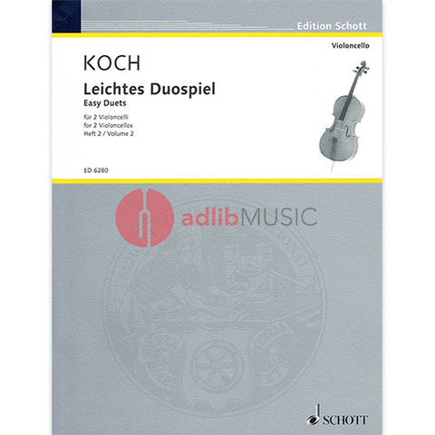 EASY DUOS FOR VIOLINCELLI V2 - KOCH - SCHOTT