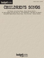 Children's Songs - Budget Books - Various - Guitar|Piano|Vocal Hal Leonard Piano, Vocal & Guitar - Adlib Music