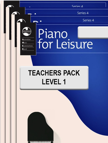 Piano for Leisure Series 4 - Teacher's Pack Level 1 - Piano AMEB