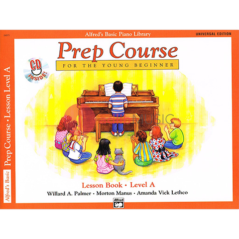 Alfred's Basic Piano Prep Course: Lesson Book A - Universal Edition - Amanda Vick Lethco|Morton Manus|Willard A. Palmer - Piano Alfred Music /CD