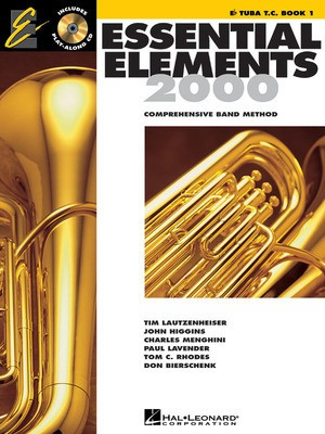 Essential Elements 2000, Book 1 - Eb Tuba in T.C. - Tuba Hal Leonard /CD